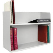 Two Tier Book Rack - Platinum