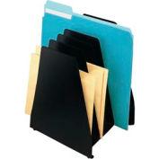 Mirage® 6 Pocket Slant File - Black