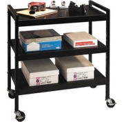 Buddy Products 5417-4 Steel Utility Cart - Black