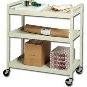 Buddy Products 5417-6 Steel Utility Cart - Putty