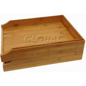 Bamboo 2 Tier Letter Tray