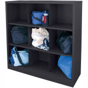 Sandusky Cubbie Storage Organizer - 9 Sections - Black