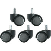 Bevco 3850S/5 Dual Wheel Hard Floor Casters for Base