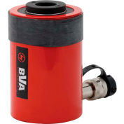 "BVA Hydraulics Single Acting Hollow Hole Hydraulic Cylinder HC3002T, 30 Ton, 2"" Stroke"