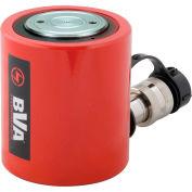 """BVA Hydraulics Low Profile Hydraulic Cylinder HL3002, 30 Ton, 2.44"""" Stroke"""