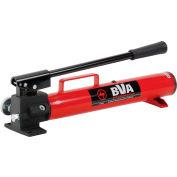 BVA Hydraulics 67 In3 Hydraulic Hand Pump P1201S, Single Speed, W/Carry Handle