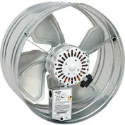 Broan 35316 Powered Gable Mount Attic Ventilator - 1600 CFM For Attics Up to 2280 Sq. Ft.