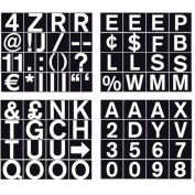 "MasterVision 1"" Magnetic Set of Letters, Numbers & Symbols"