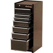 """Blackhawk 90007S 15"""" Side Cabinet, 7 Drawer, Black"""
