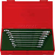 Blackhawk BW-1400 8 Piece Rev. Ratcheting Combo Wrench Set, 12 Point