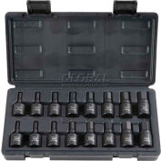 "Blackhawk UH-1216CS 1/2"" Drive 16 Piece Hex Bit Impact Socket Set"
