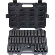 "Blackhawk UW-533CDS 1/2"" Drive 33 Piece Deep Impact Socket Set, 6 Point"