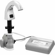Bradley Automatic Liquid Soap Dispenser 27oz. w/Batteries & Soap, Counter Mount Silver - 6315-KT0000
