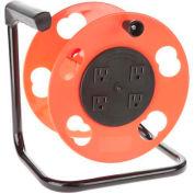 Bayco® Add-A-Cord Quad Plug Cord Reel W/Circuit Breaker K-2000, 4-PK - Pkg Qty 4