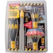 Bayco® Light Bulb Changer Kit LBC-1700C, Use For 1600 Series LBC, Yellow, 6-PK - Pkg Qty 6