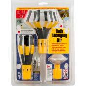 Bayco® Light Bulb Changer Kit LBC-600C, 6 Unit Shelf Display, Yellow, 6-PK - Pkg Qty 6