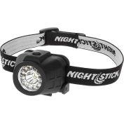 Night Stick® NSP-4604B Dual LED Headlamp - 80 Lumens - Pkg Qty 4