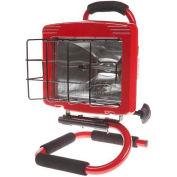 Bayco® Professional Halogen Light Sl-1003, 5'L Cord, 18/3 Ga, Red - Pkg Qty 4