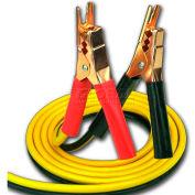 Bayco® All Season Booster Cables SL-3002, 12'L Cord, Yellow/Black, 10-PK - Pkg Qty 10