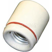Bayco® Porcelain Socket BA-326, White - Pkg Qty 6