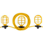 Bayco® Indoor/Outdoor Contractor Plastic String Light W/5 Lights SL-7306, 50'L Cord