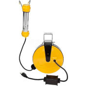 Bayco® 13 Watt Fluorescent OSHA Work Light SL-827, 50'L Cord, 18/2 GA, YW, 4-PK - Pkg Qty 4