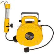 Bayco® Professional 13 Watt Fluorescent Work Light W/Tap SL-8907, 50'L Cord, 14/3 GA