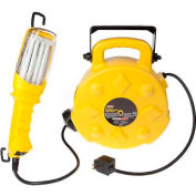 Bayco® Fluorescent Spot Work Light W/Tap SL-8908, 50'L Cord, 14/3 GA