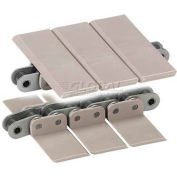 """HabaCHAIN, 843, Snap-On Chain, Straight, SD, LF Acetal, SS Base Chain, 10'L, 1.38""""W"""