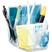CEP Desktop Organizer with 8 Compartments Crystal