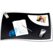 "Desk Mat 24-4/5"" x 16-1/2"" Black"