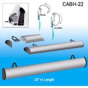 "Classic Aluminum Banner Hanger, 22""L"