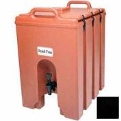 Cambro 1000LCD110 - Camtainer Beverage Dispenser, Insulated, 11-3/4 Gallon, 20-3/4x16x24-3/4, Black