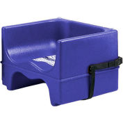 Cambro 100BCS186 - Booster Seat, Single Height, With Strap, Sets Of 4, Navy Blue - Pkg Qty 4