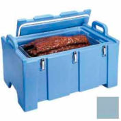 """Cambro 100MPC401 - Food Pan Carrier for 12"""" x 20"""" Food Pans, 18 x 26-3/4 x 15, 40 Qt., Slate Blue"""
