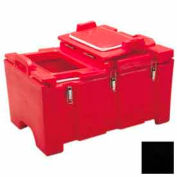 """Cambro 100MPCHL110 - Food Pan Carrier for 12"""" x 20"""" Food Pans, 18 x 26-3/4 x 15, 40 Qts., Black"""