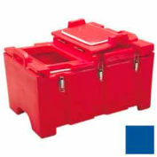 """Cambro 100MPCHL186 - Food Pan Carrier for 12"""" x 20"""" Food Pans, 18 x 26-3/4 15-1/2, 40 Qt, Navy Blue"""