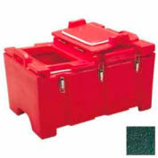 """Cambro 100MPCHL519 - Food Pan Carrier for 12"""" x 20"""" Food Pans, 18 x 26-3/4 x 15-1/2, 40 Qts., Green"""