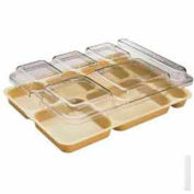 "Cambro 10146DCWC135 - Tray Lid, Fits 6-Comp Tray, 10"" x 14""-5/32x1-5/32, Clear - Pkg Qty 24"