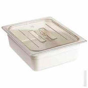Cambro 10CWCH135 - Camwear Food Pan Cover, Full Size, With Handle, Polycarbonate, Clear, NSF - Pkg Qty 6
