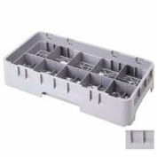 """Cambro 10HC258151 - Camrack  Cup Rack 10 Compartments 2-5/8"""" Max. Height Soft Gray NSF - Pkg Qty 6"""
