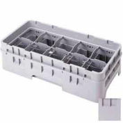 "Cambro 10HE2151 - Half Drop Extender, Half Size, 10-Comp, 19-3/4x10x2, Adds 1-5/8"" To Height, Gray - Pkg Qty 12"