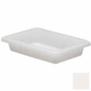 Cambro 12183P148 - Food Storage Container, 12x18x3-1/2, 1.75 Gallon Cap, Natural White - Pkg Qty 6