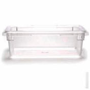 "Cambro 12186CW135 - Camwear Food Storage Container, 12"" x 18"" x 6"", 3 Gal, Clear - Pkg Qty 6"