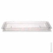 "Cambro 1218CCW135 - Camwear Cover, Food Storage, Flat, 12"" x 18"", Clear, Polycarbonate, NSF - Pkg Qty 6"