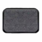 "Cambro 1520VC382 - Versa Camtray, Rectangular, 15"" x 20"", Non-Skid, Black With Pebbled Black - Pkg Qty 12"