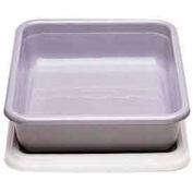 """Cambro 1722CBCP148 - Cambox Cover, For 17"""" x 22"""", 17-5/16""""L x 22-3/8""""W, Hi-Gloss Plastic, White - Pkg Qty 12"""
