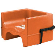 Cambro 200BCS157 - Booster Seat, Dual Height, Polyethylene, w/Strap, Coffee Beige - Pkg Qty 4