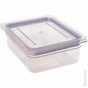 Cambro 20CWGL135 - Griplid, Fits Gn 1/2 Size Food Pan, 10-7/8x12-3/4, Stackable, Clear - Pkg Qty 6
