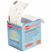 "Cambro 23SL - Food Rotation Label, 2"" x 3"", Biodegradable, White"